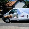 Kisteherautó dekorációja öntapadós fóliával, legyen szállítójárműve figyelemfelkeltő. Mindezt alacsony áron!